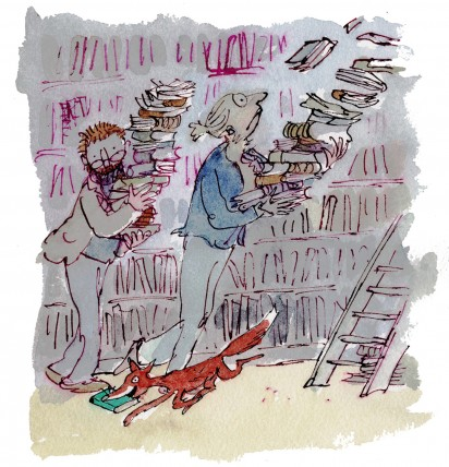 Slightly Foxed by Quentin Blake