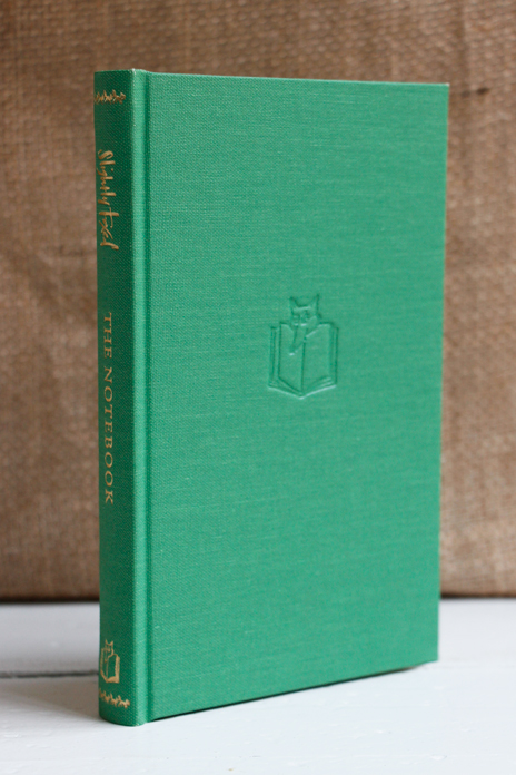 Large Apple Green Notebook