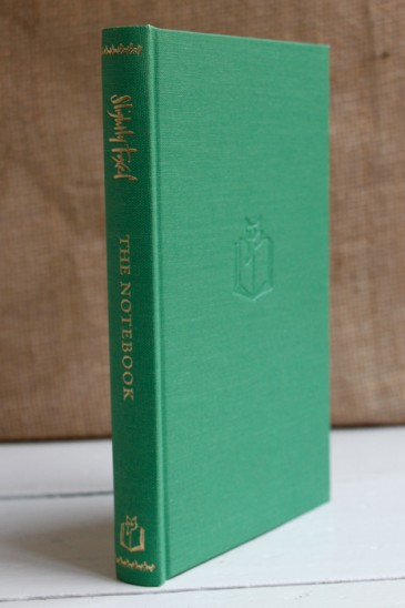 The Slightly Foxed Notebook - Apple Green - Made in England