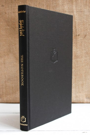 The Slightly Foxed Notebook - Charcoal - Made in England