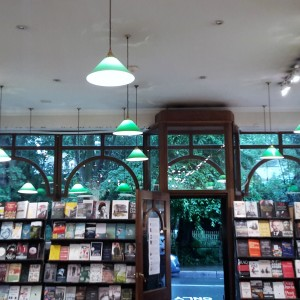 Ysenda Maxtone Graham and Slightly Foxed at Daunt Books Hampstead