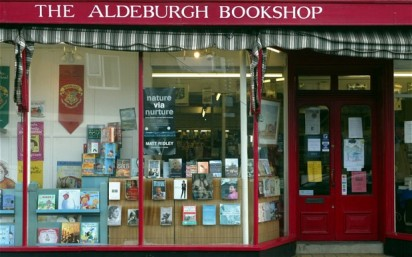 Slightly Foxed Spring Bookshop of the Quarter: The Aldeburgh Bookshop