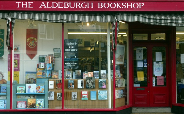 Slightly Foxed Spring Bookshop of the Quarter: The Aldeburgh Bookshop