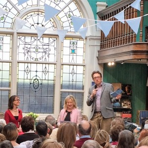 Slightly Foxed at Daunt Books Spring Festival 2017