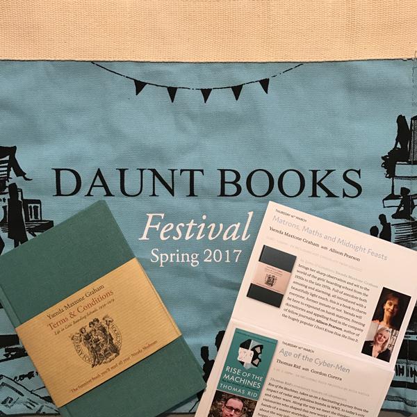 Daunt Books Spring Festival 2017