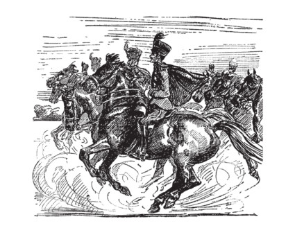 Katie Grant on Violet Needham, The Black Riders