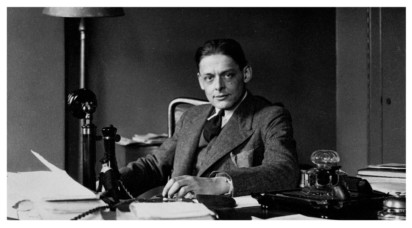 Photograph, T. S. Eliot - Jim McCue on editing The Poems of T. S. Eliot