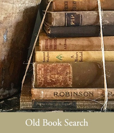 Old Book Search Slightly Foxed Subscriber Benefits