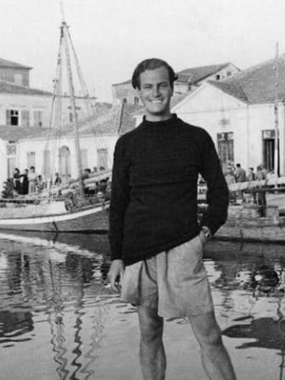 Patrick Leigh Fermor, with thanks to the Joan Leigh Fermor