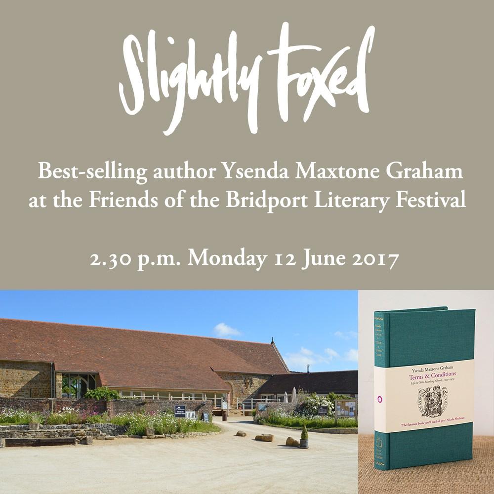 Ysenda Maxtone Graham - Bridport Literary Festival