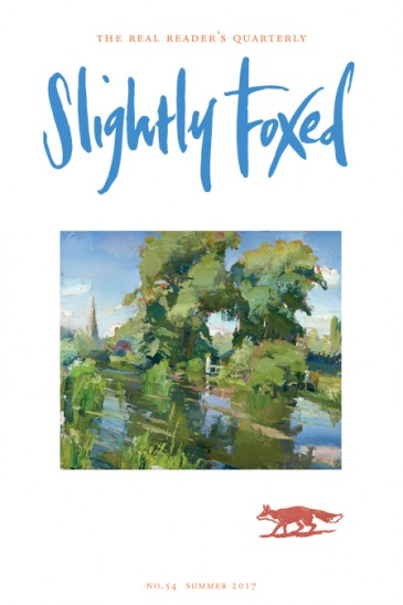 Slightly Foxed Issue 54, Published 1 June 2017