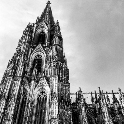 Cologne Cathedral: In the footprints of Paddy Leigh Fermor #adventuresforharriet