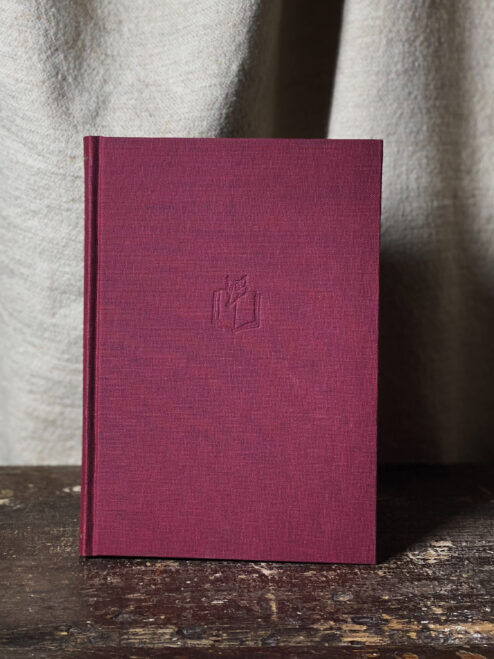 Large Maroon Notebook