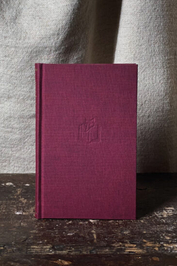 Slightly Foxed Notebook - Maroon, Small