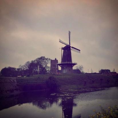 Windmill at Gorinchem #adventuresforharriet
