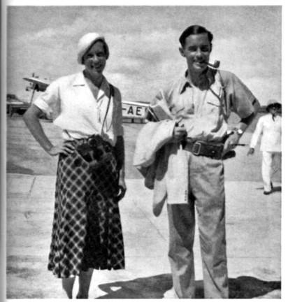 Photograph, Ella Maillart & Peter Fleming - Ysenda Maxtone Graham