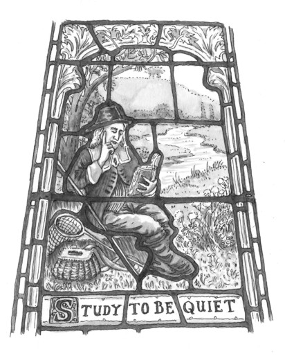 Anna Trench, Study to be quiet - Ken Haigh on Izaak Walton, The Compleat Angler