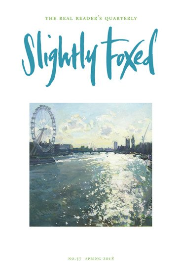 Slightly Foxed Literary Magazine Issue 57
