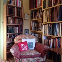 Slightly Foxed Autumn Bookshop of the Quarter: Much Ado Books. Armchair.