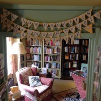 Slightly Foxed Autumn Bookshop of the Quarter: Much Ado Books. Bunting.