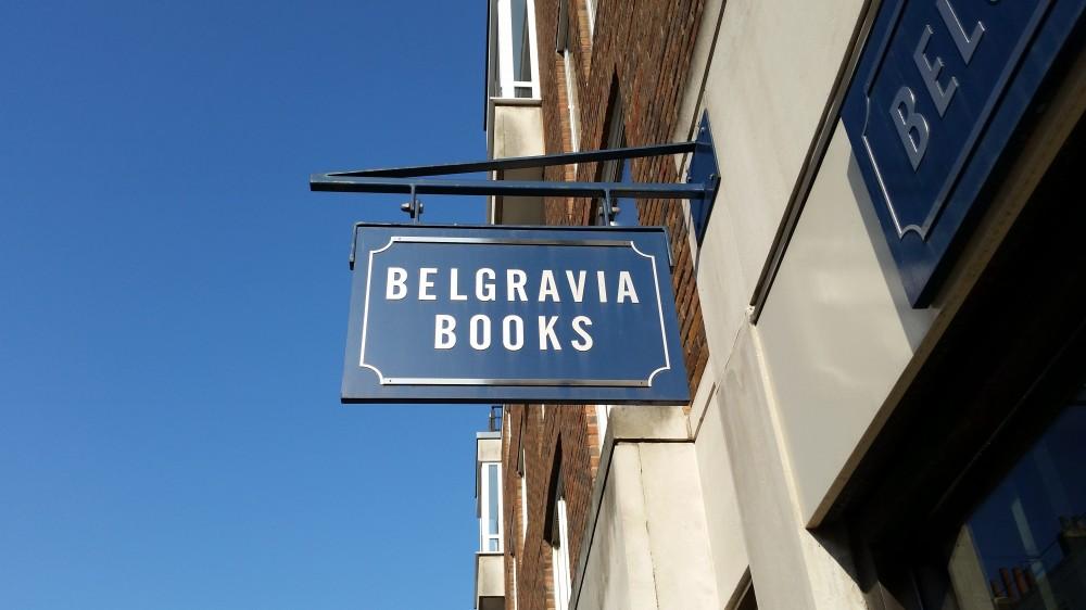 Slightly Foxed Bookshop of the Quarter, Winter 2017: Belgravia Books