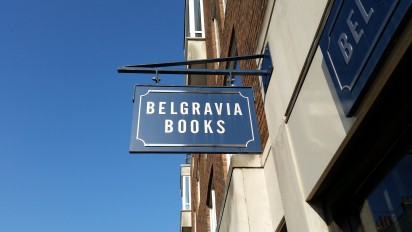 Slightly Foxed Bookshop of the Quarter, Winter 2017: Belgravia Books