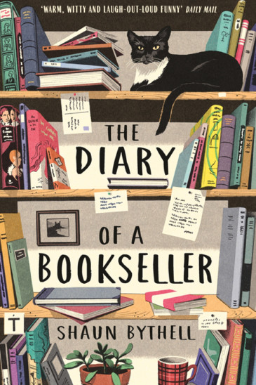 Shaun Bythell, Diary of a Bookseller - Slightly Foxed shop