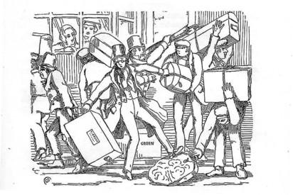 Cuthbert Bede, The Adventures of Verdant Green - Issue 55