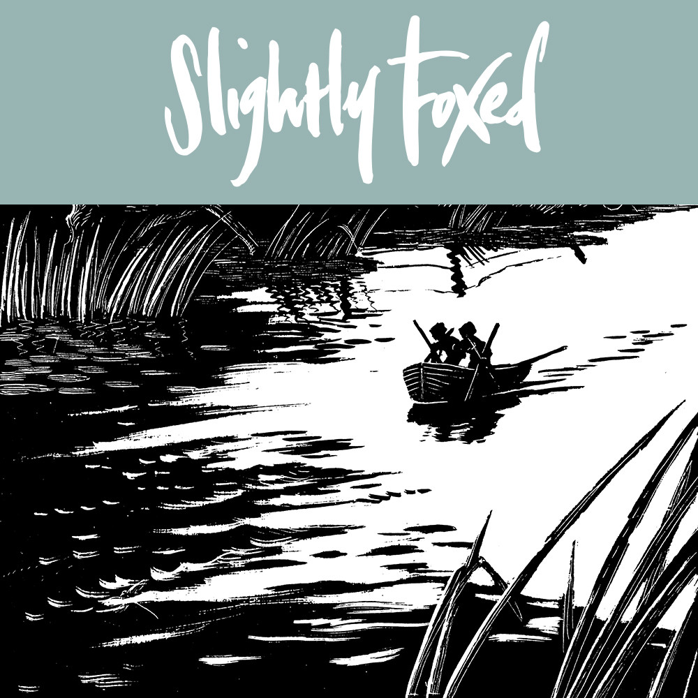 lightly Foxed January News 2018, Beside the Folly Brook
