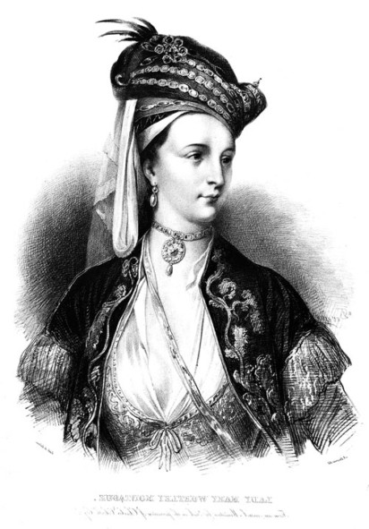 Portrait of Lady Mary Wortley Montagu - Roger Hudson, Issue 57