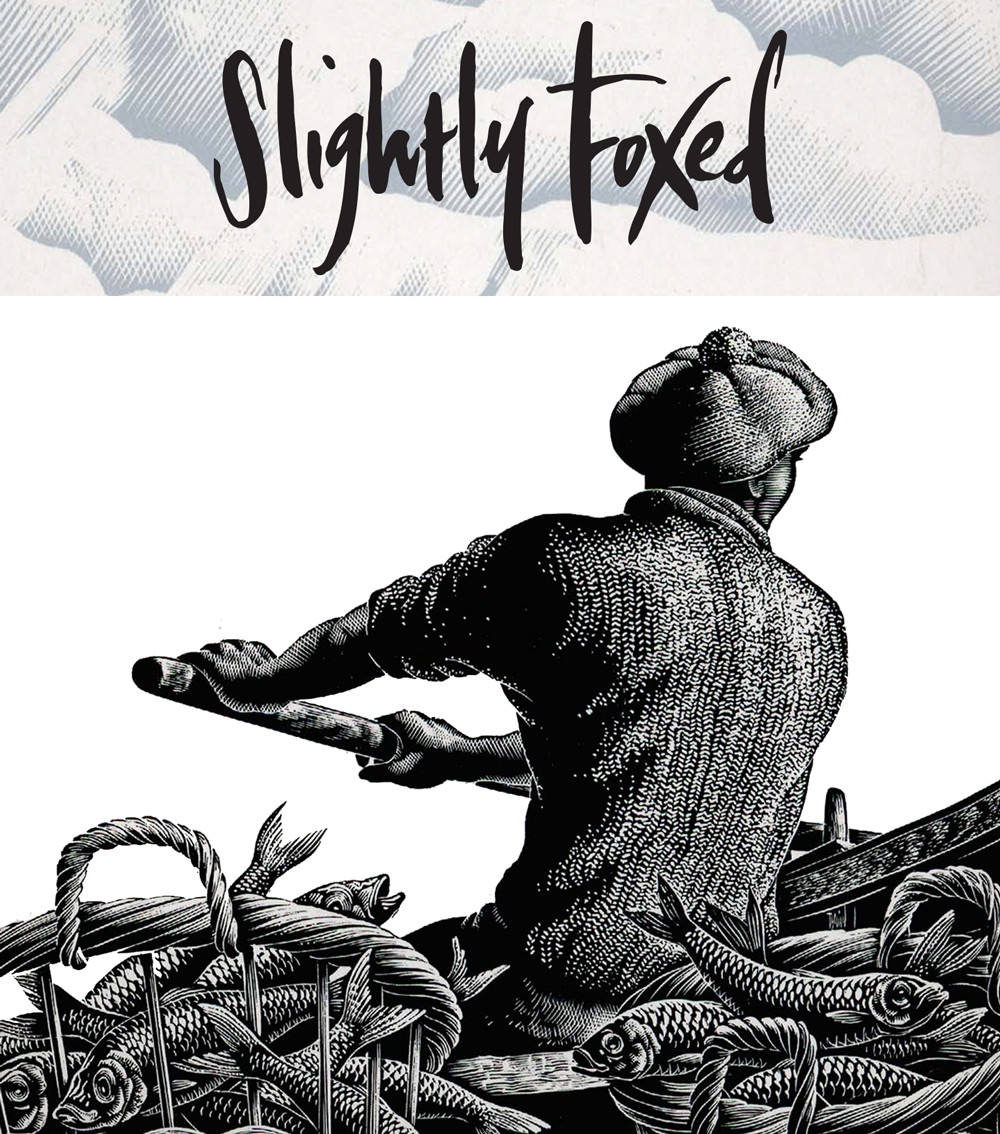 Slightly Foxed April News: The Call of the Sea