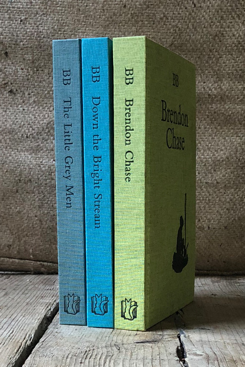 A Set of BB Books: The Little Grey Men, Down the Bright Stream & Brendon Chase