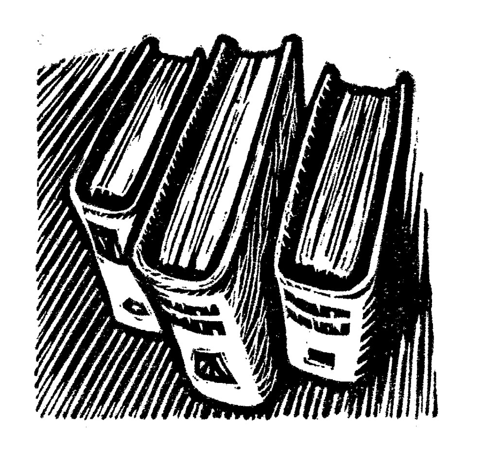 John Watson, Book Spines - Contents Page