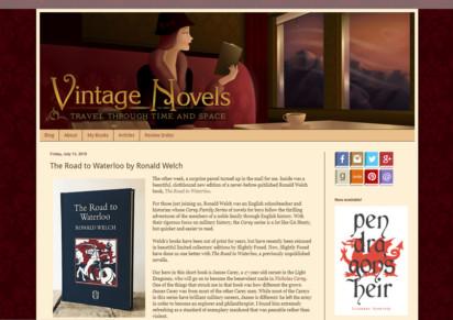 Road to Waterloo - Vintage novels
