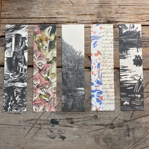 Pack of Slightly Foxed Bookmarks