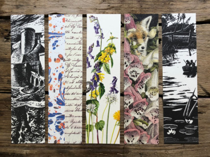 Slightly Foxed Bookmarks