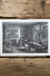 Pack of Slightly Foxed Postcards (Thomas Hardy's Study at Max Gate)