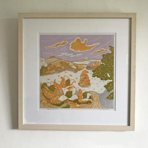 Luna North, 'Beechnuts' Print