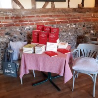 Slightly Foxed, Wyken Vineyards, Leaping Hare, Commonplace Book Display