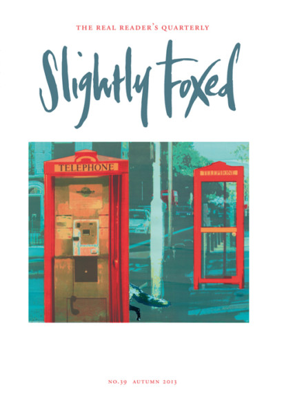 Slightly Foxed Issue 39