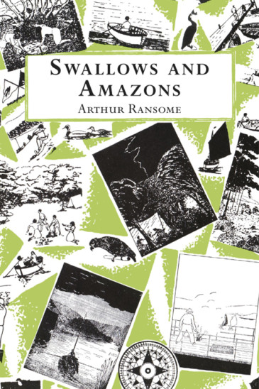 Arthur Ransome, Swallows and Amazons - Recommended in the Slightly Foxed Podcast