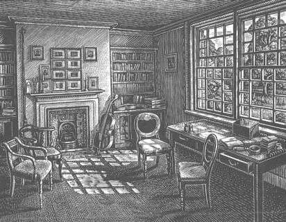 Howard Phipps - Hardy's Study