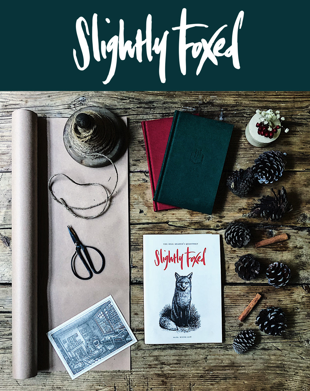 Slightly Foxed November News: The gift of beautifully packaged good reading - Christmas presents