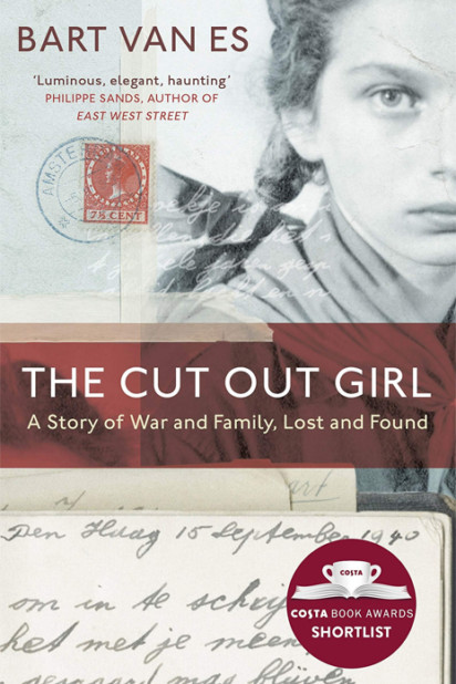 Bart van Es, The Cut Out Girl - Slightly Foxed Best First Biography Prize