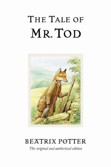 Beatrix Potter, The Tale of Mr Tod - Slightly Foxed shop