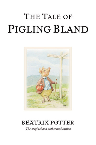 Beatrix Potter, The Tale of Pigling Bland - Slightly Foxed shop