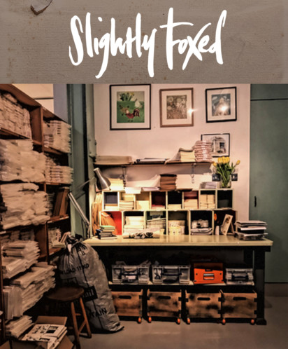 Slightly Foxed January News: All Hands to the Pump - New Year Sale