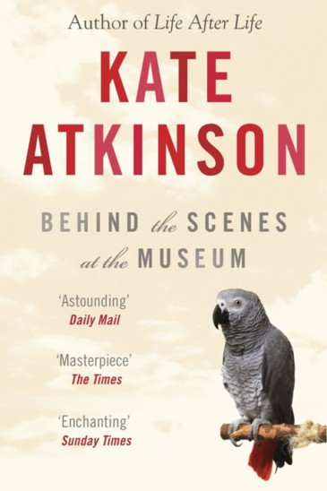Kate Atkinson, Behind the Scenes at the Museum - Slightly Foxed shop