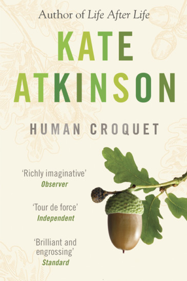 Kate Atkinson, Human Croquet - Slightly Foxed shop