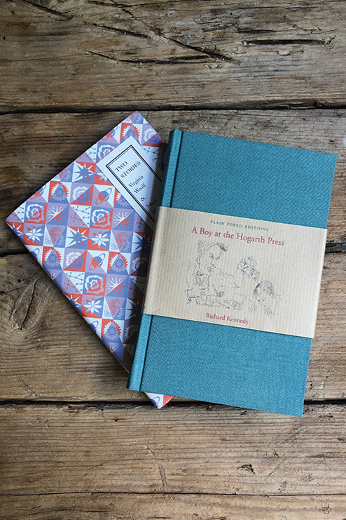 Pair – A Boy at the Hogarth Press & Two Stories